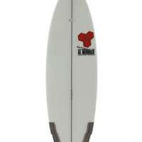 Channel Islands Weirdo Ripper 5'5 Surfboard - WR-313071 in Poly/Sand/Color