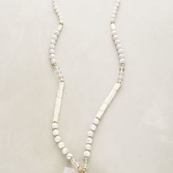 Lirion Pendant Necklace by Anthropologie in White Size: One Size Necklaces