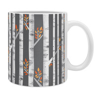 Lucie Rice Birches Be Crazy Coffee Mug