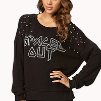 Bejeweled Spaced Out Sweatshirt