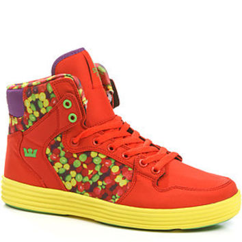 SUPRA The Lil Wayne Vice Pack Vaider Lite Sneaker in Candy Fire Red Yellow : Karmaloop.com - Global Concrete Culture