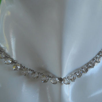 1950s-60s Rhinestone Necklace