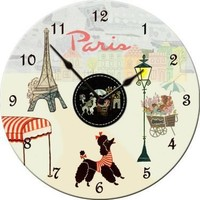 Wall Clocks Paris Wall Clock - Sew Vintage - Dolce Mia Vintage Everyday Beauty, Gifts & Stationery
