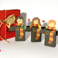Harry Potter emotibox - Customized geek paper box for season greetings, birthday wishes, expressing emotions