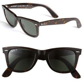 Tagre™ Men's Ray-Ban 'Classic Wayfarer' 50mm Sunglasses