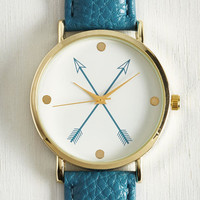 Arrow on the Side of Awesome Watch   Mod Retro Vintage Watches   ModCloth.com