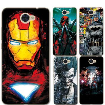 Deadpool Dead pool Taco For Huawei Y7 Phone Cases Cover 5.5 inch Charming Marvel Avengers Captain America  Coque For Huawei Y7 Funda Capa AT_70_6