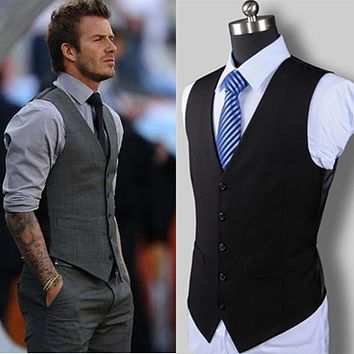 Designer Fashion Men's Suit Vest