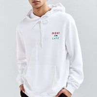 Lazy Oaf Face It Hoodie Sweatshirt - Urban Outfitters