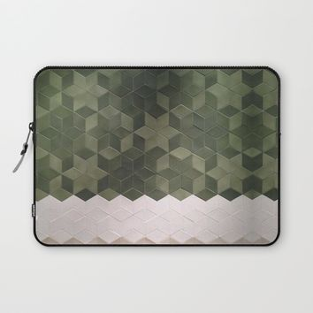 Geometric Pattern Laptop Sleeve by Salome