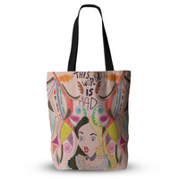 "Vasare Nar ""Alice in Wonderland"" Everything Tote Bag"