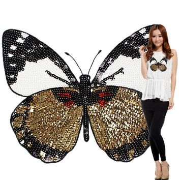 Large Butterfly T-shirt Patch
