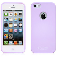 Alice Pastel iPhone 5 / 5S Case (LOGO Hole) - Purple