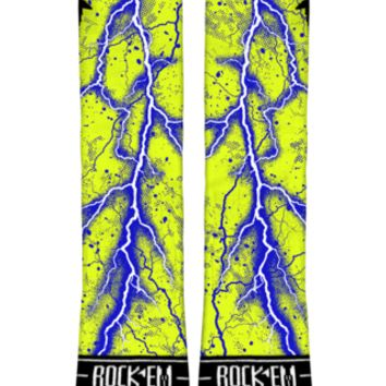 Lightning Bolt Custom Nike Elite Socks | Rock 'Em Apparel
