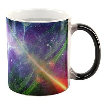 Intergalactic Rave Festival All Over Heat Changing Coffee Mug