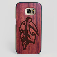 Nashville Predators Galaxy S7 Edge Case - All Wood Everything