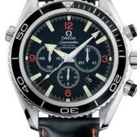 Omega Men's 2910.51.82 Seamaster Planet Ocean Automatic Chronometer Chronograph Watch