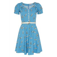 Trollied Dolly | Knees Up Teas Up Summer Cockatoo Print Dress | Spoiled Brat