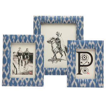 Morwell Blue Picture Frame