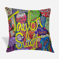 Taylor Swift Poster Pillow Case