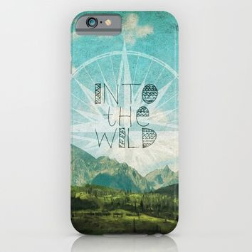 Into the Wild iPhone & iPod Case by Jenndalyn