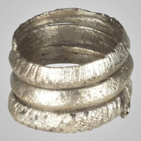 Viking Warriors Mans Ring, Vintage wedding ring  C.866-1067A.D. Size 10 1/2  (20.1mm)(BRR689) One of a kind wide wedding band