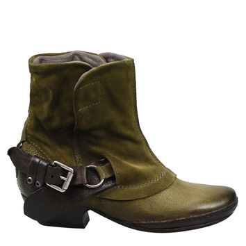 Miz Mooz Evelyn Women's Boot in Olive