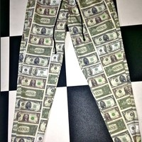 SWEET LORD O'MIGHTY! US DOLLAR SWEATPANTS