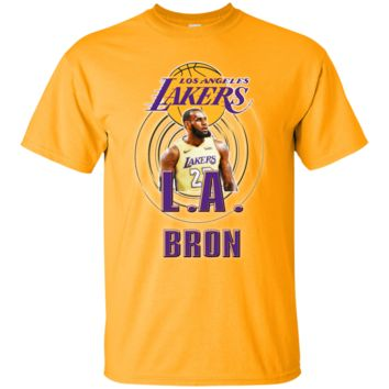 LEBRON JAMES LA LOS ANGELES LAKERS NBA KING T-Shirt 2