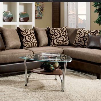 Brandon Sectional by HD Furniture