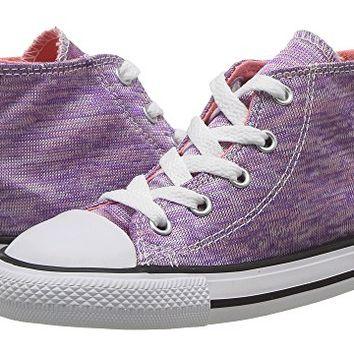 Converse Kids Chuck Taylor All Star Jersey Knit Hi (Infant/Toddler)