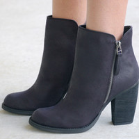Percussion of Fall Bootie - Black