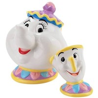 Beauty and the Beast Mrs. Potts and Chip Salt and Pepper Set - Westland Giftware - Beauty and the Beast - Kitchenware at Entertainment Earth
