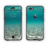 The Under The Sea Scenery Apple iPhone 6 Plus LifeProof Nuud Case Skin Set