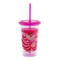 Disney Cheshire Cat Tumbler With Straw | Disney Store