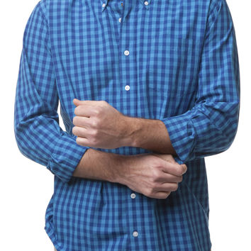 Chase Ls Shirt Navy And Blue Buffalo Check