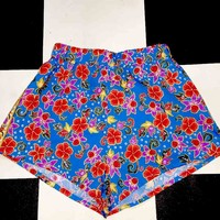 SWEET LORD O'MIGHTY! BEBE SHORT IN BLUE