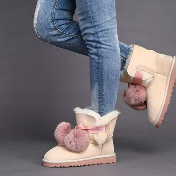 UGG Limited Edition Classics Boots GITA Women Shoes DUSK1018517