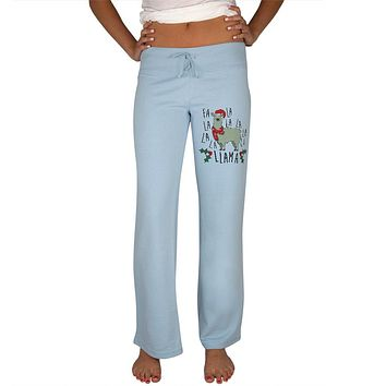 Christmas Fa La Llama Womens Sweatpants