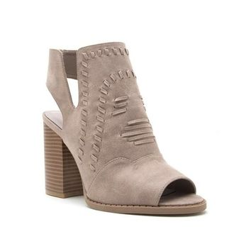 Abby Open Back Bootie