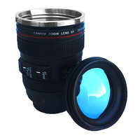 PREMIUM SHORT CAMERA LENS CUP WITH BUBBLE LID-Backdrop Outlet