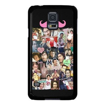 Markiplier Tumblr Collage Samsung Galaxy S5 Case