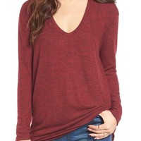BP. V-Neck Long Sleeve Sweater | Nordstrom