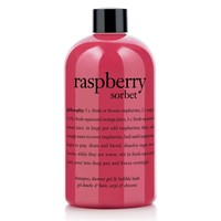 raspberry sorbet shower gel | shampoo, shower gel & bubble bath | philosophy valentines day
