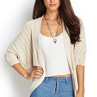 LOVE 21 Knit Dolman Cardigan