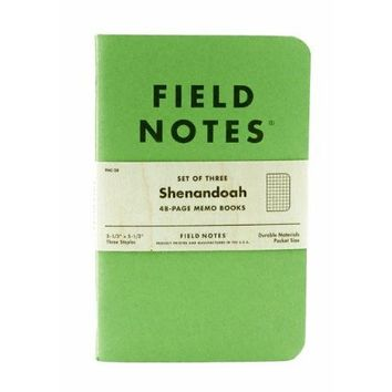 Field Notes Shenandoah Special Edition 3-Pk