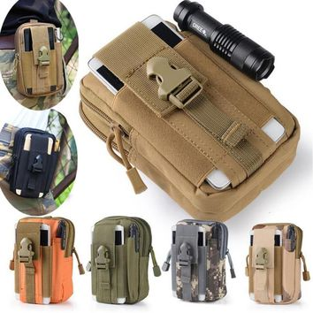 Universal Military Tactical Holster Hip Belt Bag Waist Phone Case For blackview bv5000 bv6000 bv7000 bv8000 pro Phone Sport Bags
