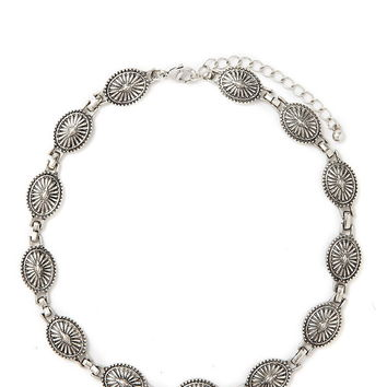 Concho Bead Choker | Forever 21 - 1000205557