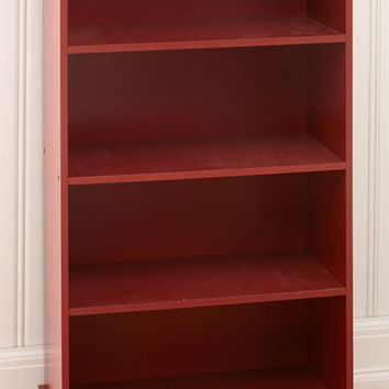 Country Barn Red Storage Shelf Unit Cabinet Bookcase Kitchen Bath Bedroom Office