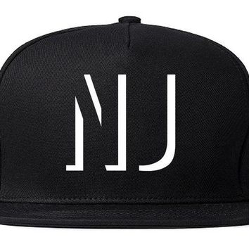 DCK4S2 Kings Of NY Initials New Jersey USA State NJ Snapback Hat